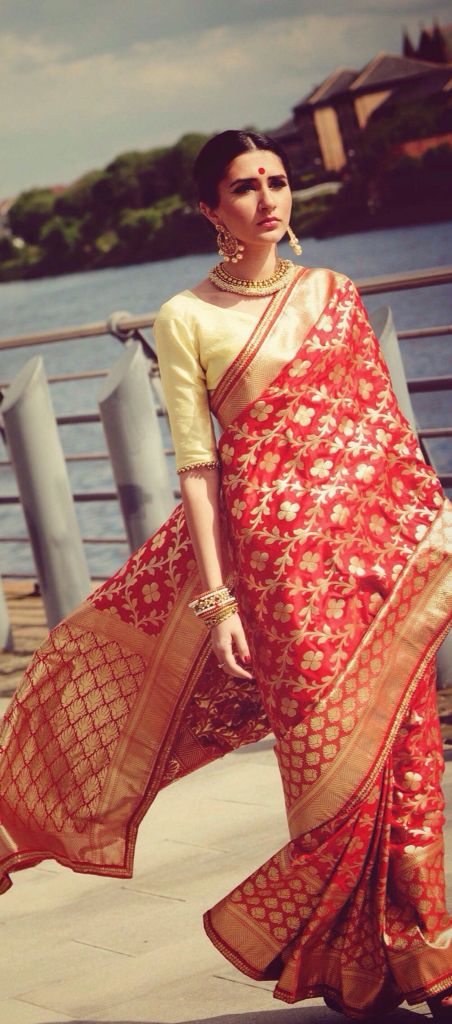 Benarsi saree by Ayush Kejriwal For purchases email me at ayushk@hotmail.co.uk or what's app me on 00447840384707