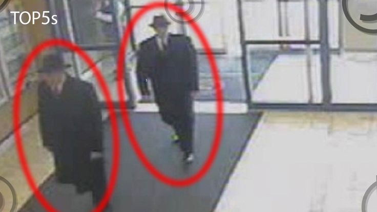 From CCTV footage of two believed men in black looking for UFO witnessers to the believed sighting of extraterrestrials on the moon and orbiting our planet. ...