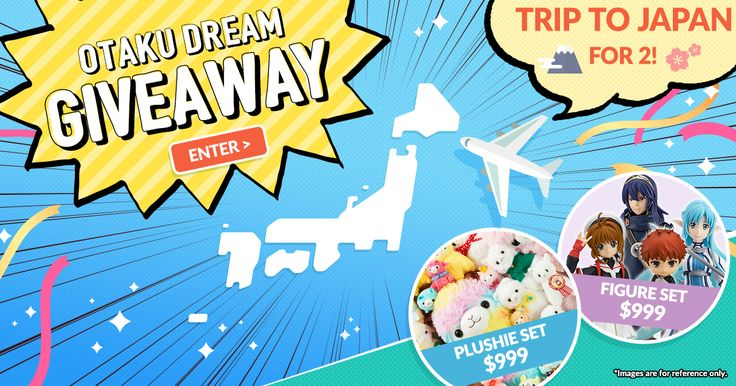 Claim up to $100 to spend on goodies from Japan! 2 chances daily! #tokyootakumode