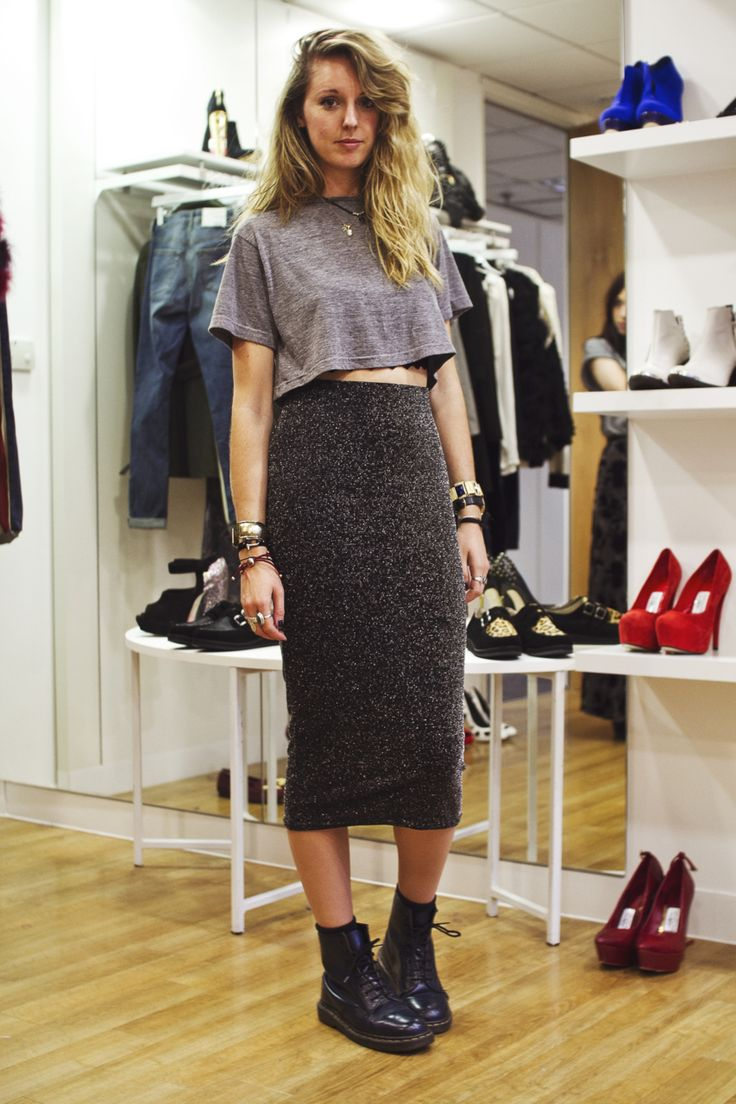 topshop:    It's all about the midi