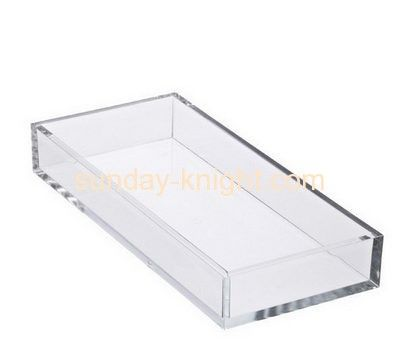 Acrylic plastic supplier customize service tray holder  ODK-075