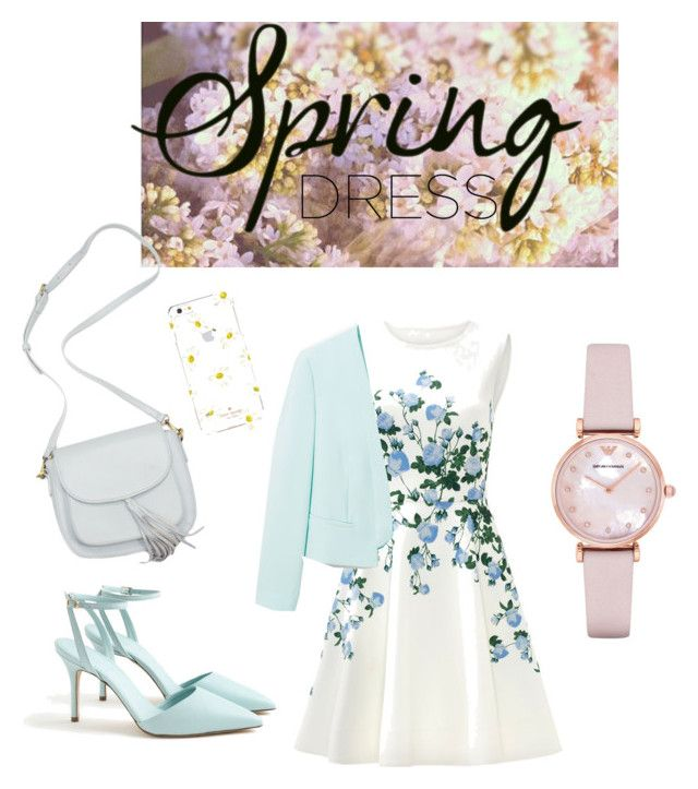 """Untitled #6"" by andini-rachma on Polyvore featuring ERIN Erin Fetherston, MANGO, J.Crew, Kate Spade and Emporio Armani"