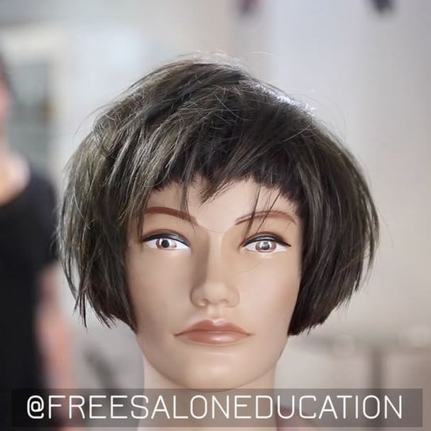 Top 100 stacked bob photos TAP FOR SOUND This is for the out of the box 📦 thinkers. Grunge Bang 💥 TAG A FRIEND. Thanks!!! 👍🏻 #freesaloneducation #americansalon #hairbrained #behindthechair #modernsalon #hairdresser #haircut #haircutting #stackedbob #hairdresserlife #hairtutorial #bangs #choppybang  @mizutaniscissors @americansalon  @behindthechair @modernsalon @hair.videos @cosmoprofbeauty @lbp