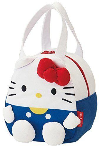Sanrio Hello Kitty knitted fabric Diecut Lunch Bag KNBD1 ... deac22909032d