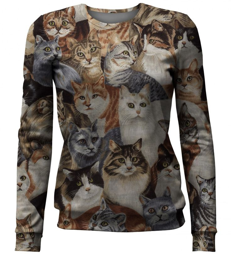 Cats sweater, Mr. GUGU & Miss GO