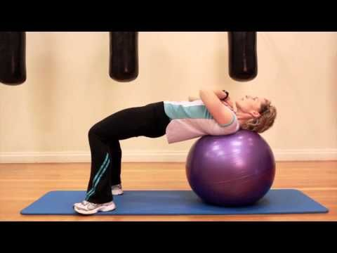 Full Body Stability Ball Workout Tutorial