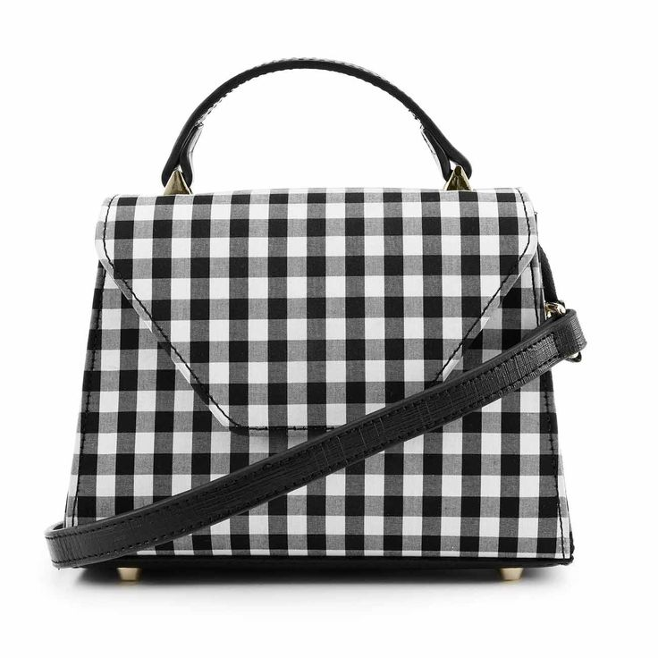 NAKEDVICE - The 90210 Gingham Side Bag