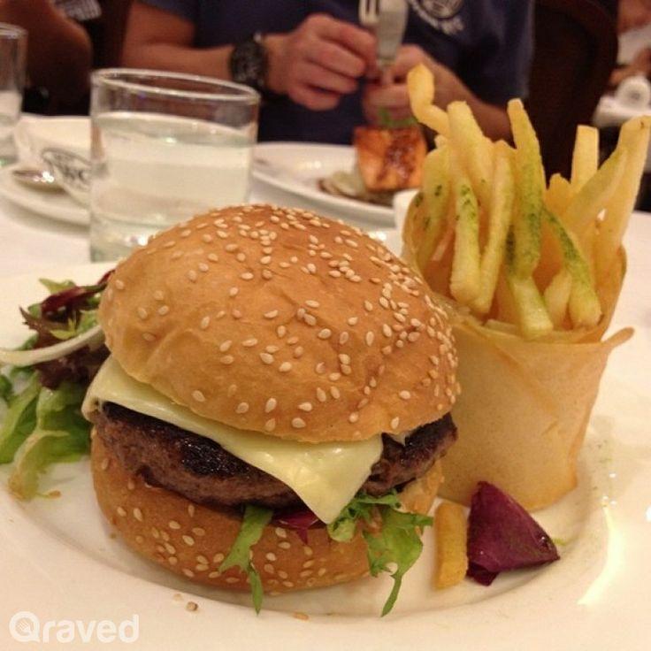 Wagyu Beef Burger at TWG Tea Salon & Boutique
