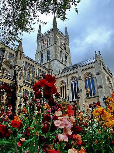 Southwark Cathedral, London, UK: the oldest Gothic building in London.