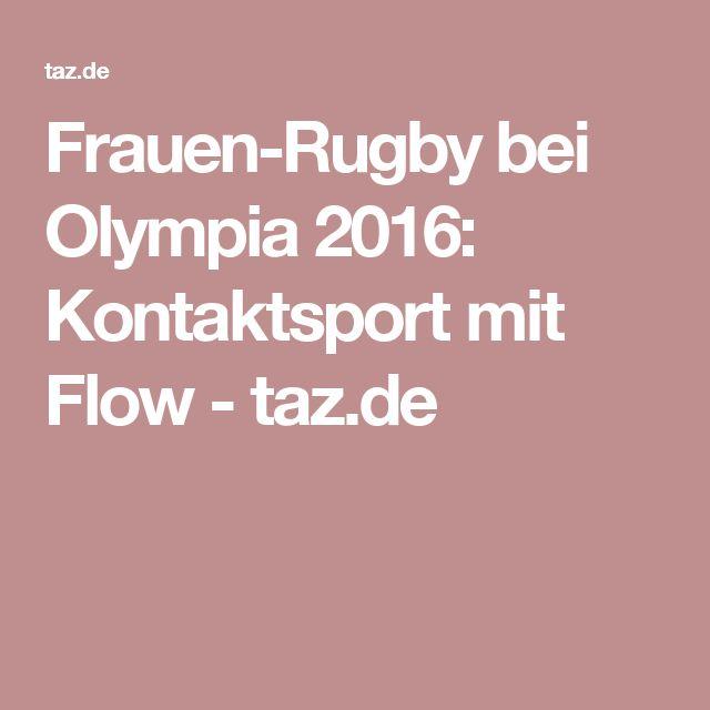 Frauen-Rugby bei Olympia 2016: Kontaktsport mit Flow - taz.de