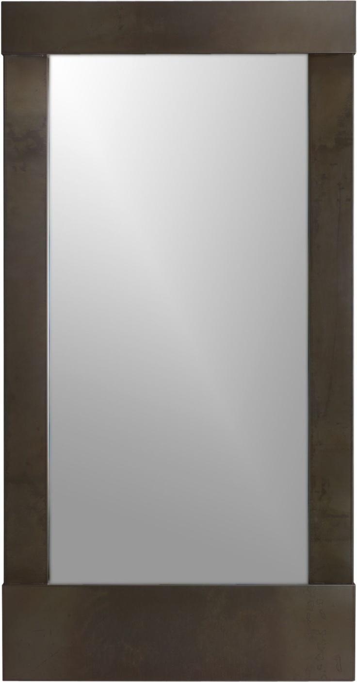 Parsons floor mirror crate barrel