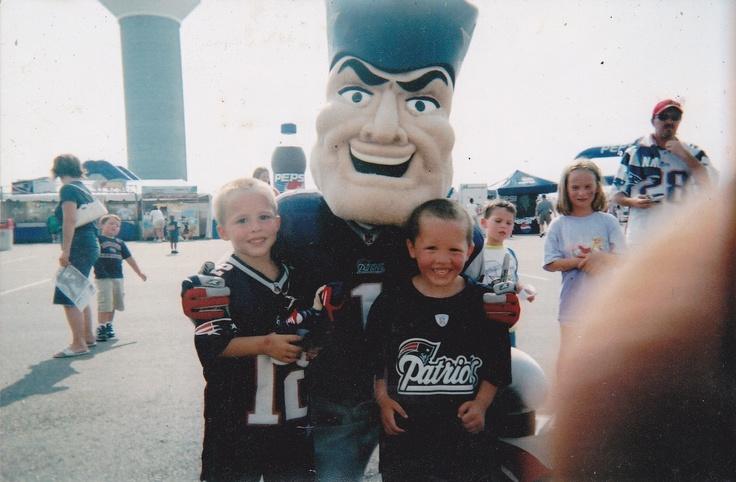The boys at Gillette Stadium