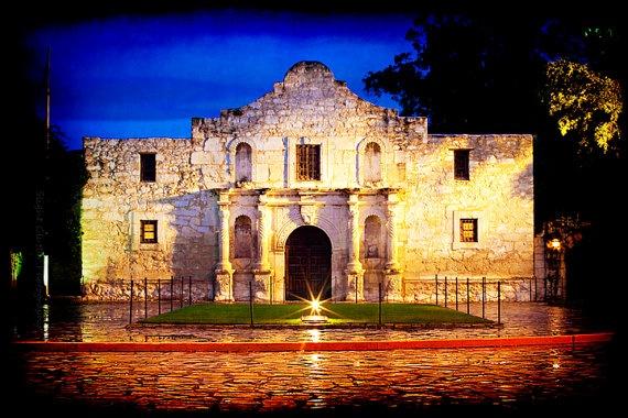 Alamo - Texas Photos   by Slightclutter