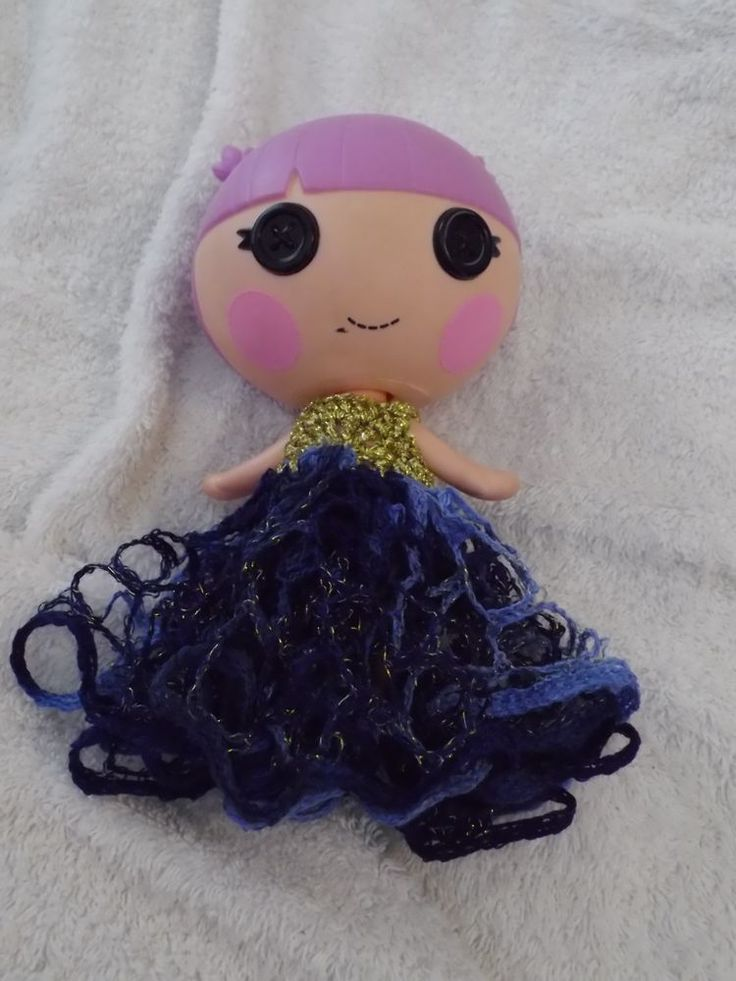 DOLLS DRESS ONLY FOR LITTLE SISTA LALALOOPSY