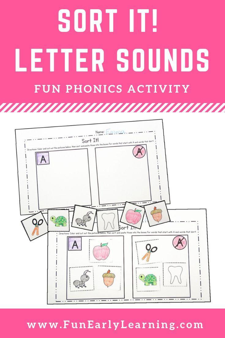 Sort It Letter Sound Correspondence No Prep Activity For Phonics Phonics Activities Phonics Letter Sound Correspondence