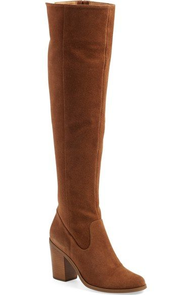 Steve Madden 'Eternul' Over the Knee Block Heel Boot (Women) available at #Nordstrom