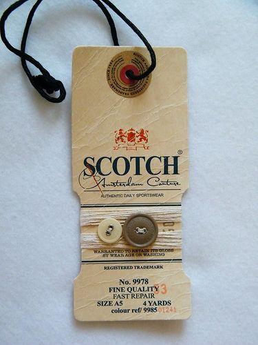 Scotch swing tags
