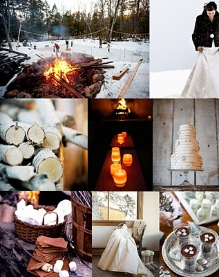 brown, white, winter wedding ideas from #koyal @Koyal Wholesale