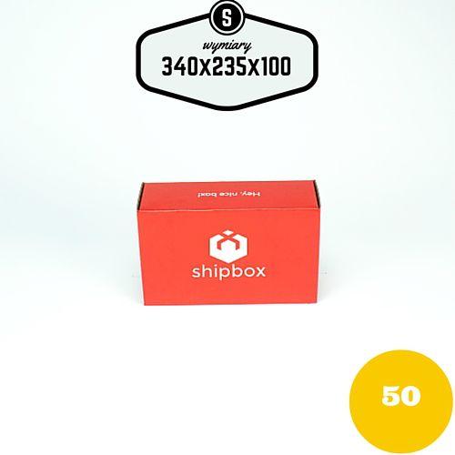 Opakowanie e-commerce małe pudełko