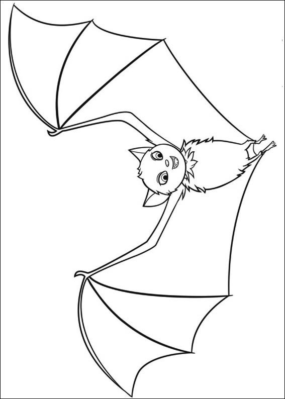 transylvania coloring pages | 17 Best images about Hotel Transylvania: Disegni da ...