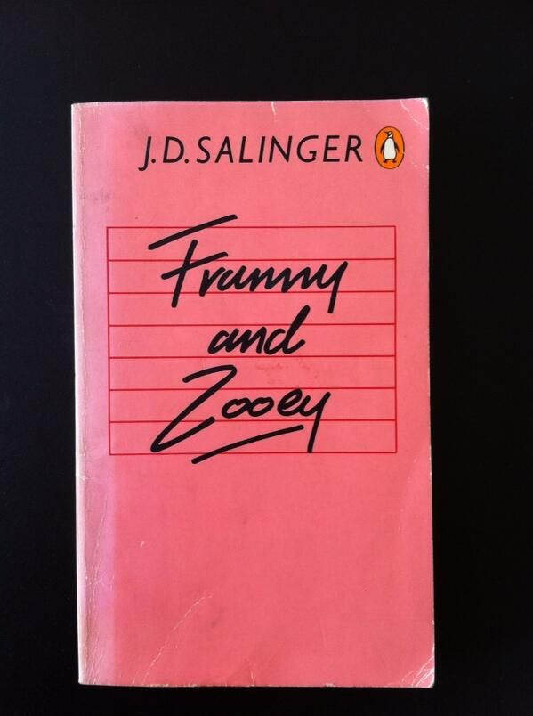 Franny and Zooey Fiction font by Trickett & Webb for Penguin Books, 1980s