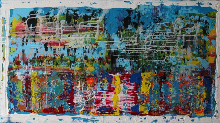acrylic painting 110 cm x 80 cm NO.302