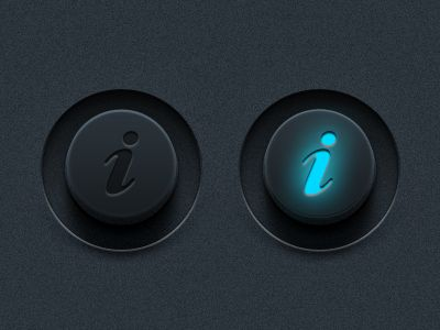 more (rendered) buttons with lights
