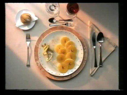 Spot televisivo sobre la comida sana y la dieta mediterranea