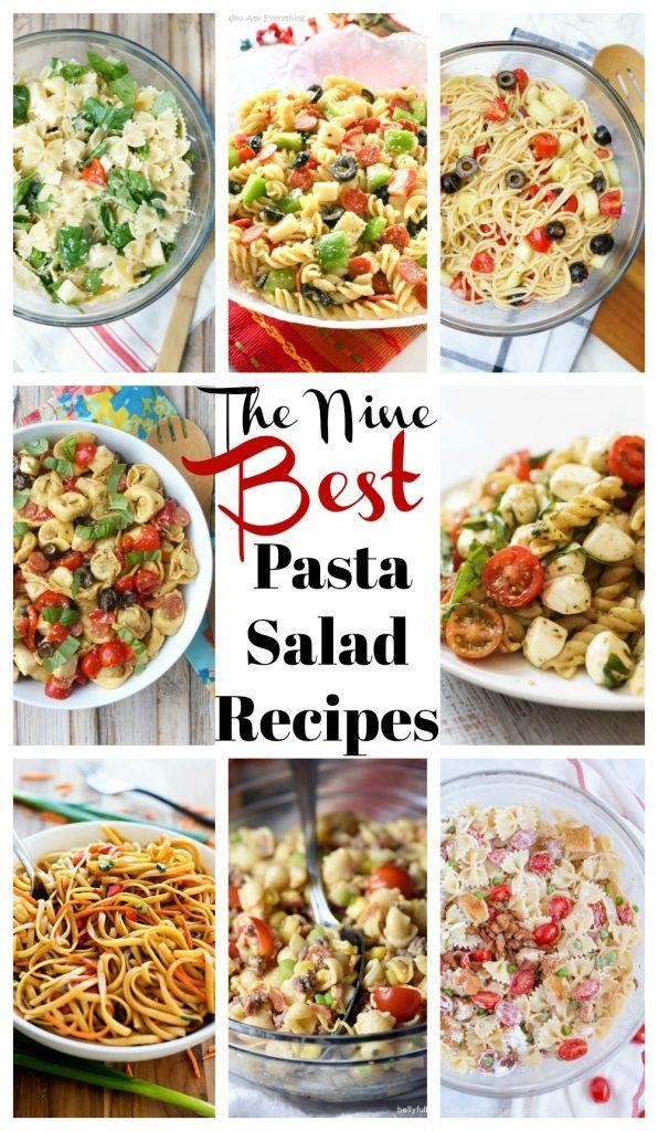 Nine of the Best Pasta Salad Recipes! [ pasta salad recipe ]
