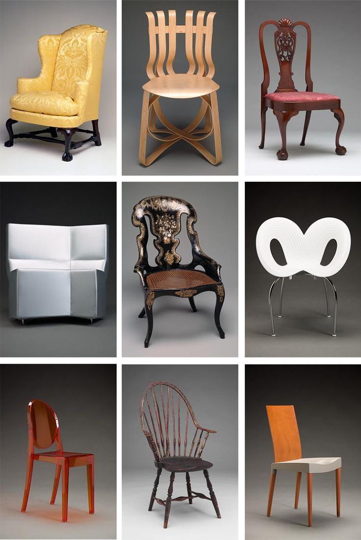 Typology Of Chairs. Collections Of: Indianapolis Museum Of Art, Dallas  Museum Of Art