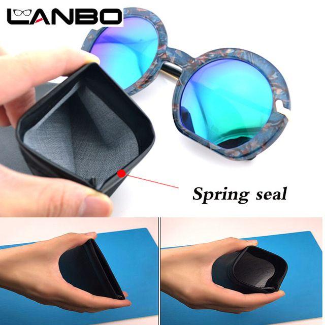 3 pcs/lot High Quality Fashion Brand black Waterproof PU Sunglasses Pouch Soft Eyeglasses Bag Glasses Case Eyewear Accessories