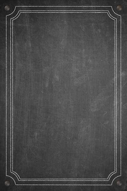 blank menu background | scream | Chalkboard art, Menu ...