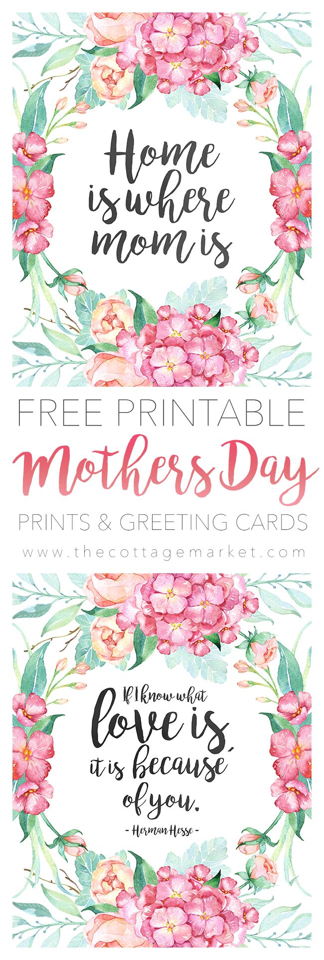 382 Best Mother S Day Images On Pinterest Gift Ideas Printable