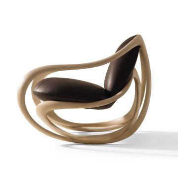 Move by Giorgetti. Armchair designed by Rossella Pugliatti
