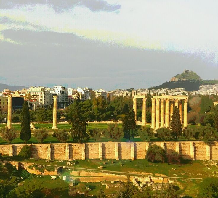 Ναός Ολυμπίου Διός (Temple Of Olympian Zeus) στην περιοχή Αθήνα, Αττική
