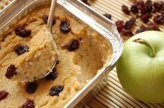 Вегетарианский пудинг из яблока и кабачка. Полезный, низкокалорийный десерт или завтрак!