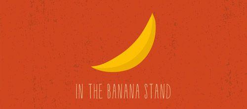 banana stand logo designs