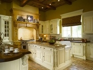 """~~Clicking my heels...saying...""""I want this kitchen! I want this kitchen! I want this kitchen!!~~Beautiful Kitchens, Tuscan Kitchens, Kitchens Design, Dreams Kitchens, House Ideas, Interiors Design, Dreams House, Kitchens Ideas, Kitchens Cabinets"""