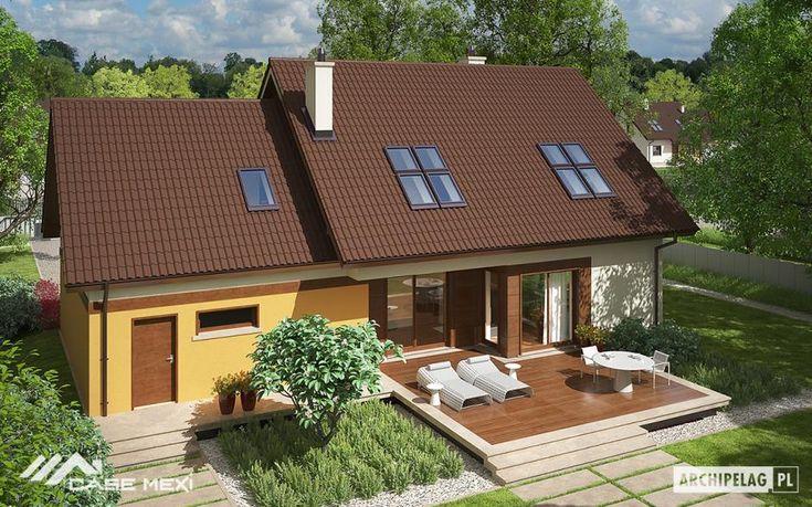 Proiectul Marcin III propune o locuinta cu o suprafata uitila de 190m2, cu design simplu, de bun gust.