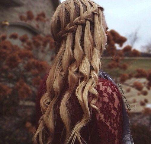 Fairytale hair.