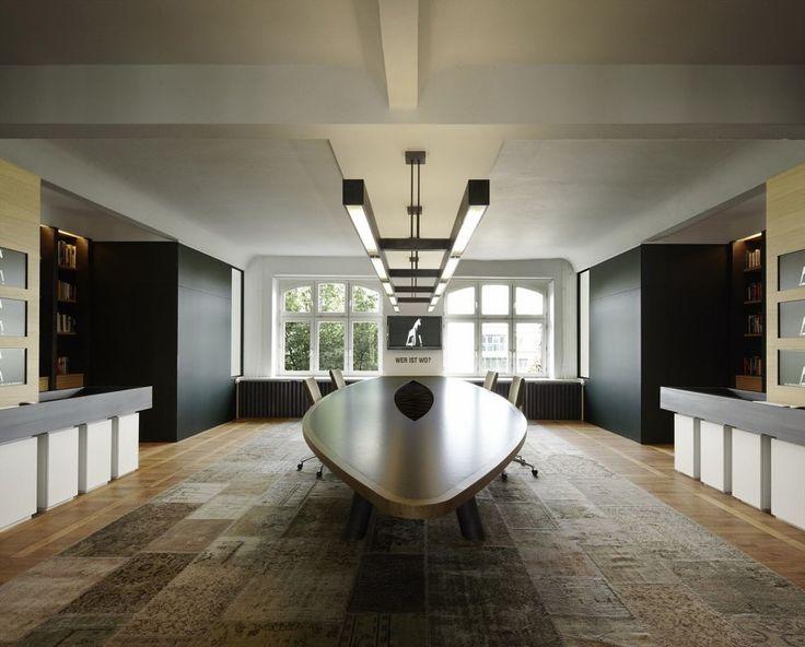 Contemporary Office Interior Design Executive Meeting