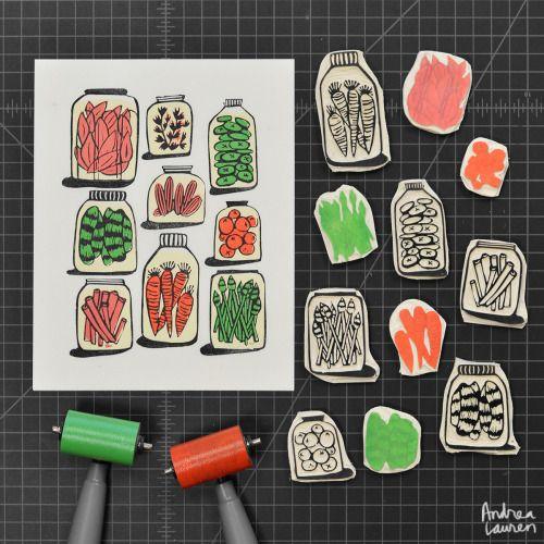 Pickles Print by Andrea Lauren