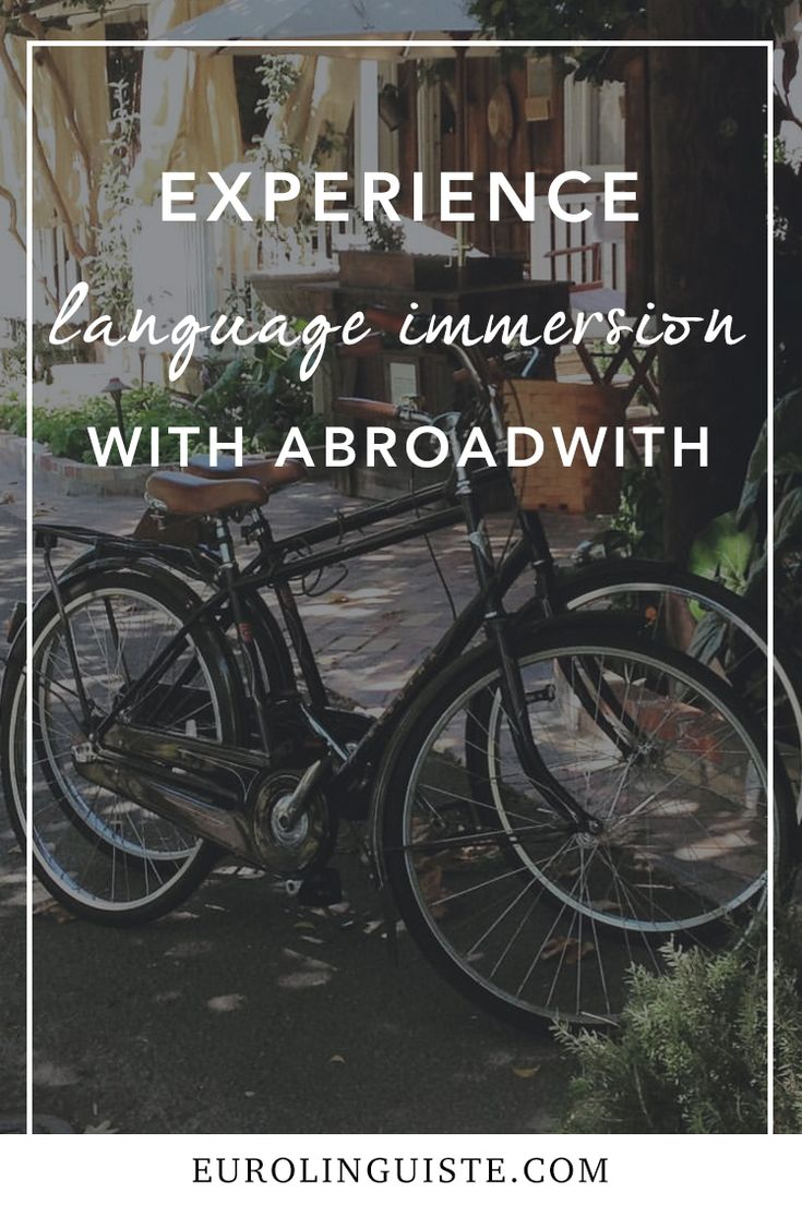 Experience Language Immersion with Abroadwith