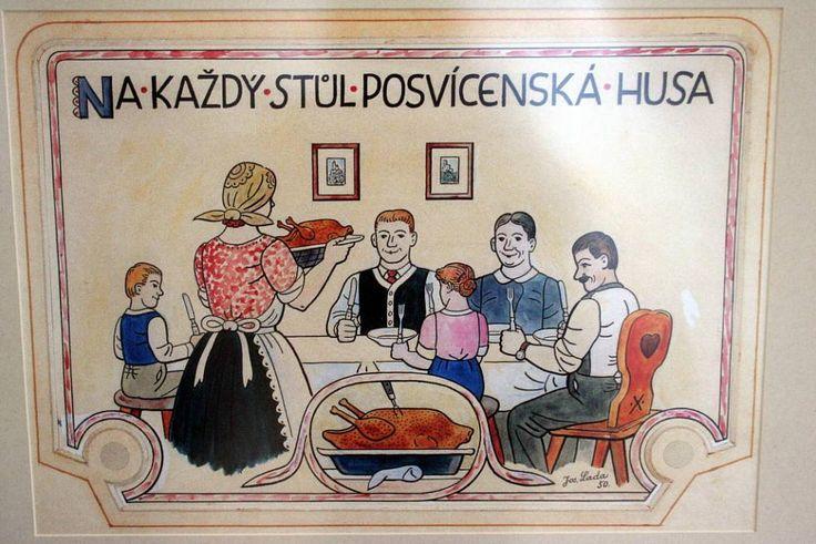 zahájení výstavy kreseb Josefa Lady