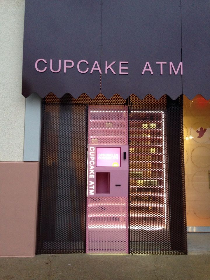 Sprinkles Cupcakes ATM