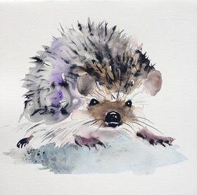 Hedgehog by Kristina Brozicevic
