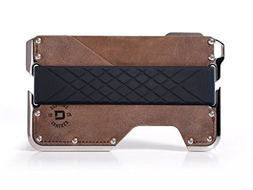 New Dango Products Dango Dapper 2 EDC Wallet - Made in USA - Genuine Leather, Nickel-Plated CNC-Machined Aluminum, RFID Blocking, 2 Oz. online. Find the  great MARC JACOBS Mens-Wallets from top store. Sku yjgy88181mfgu12098