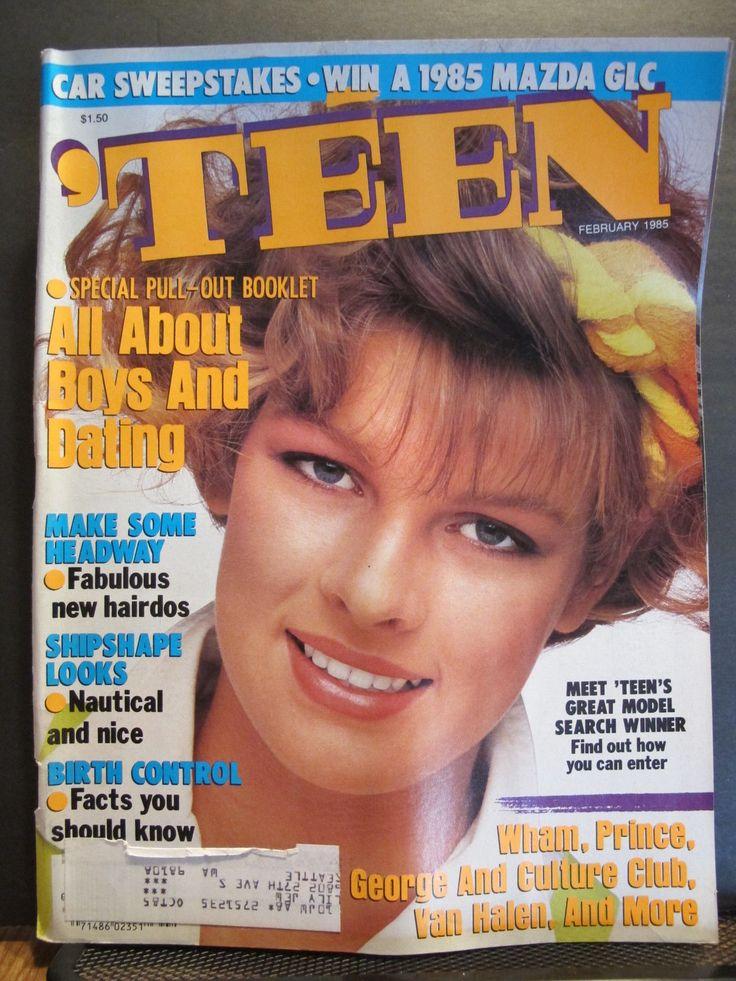 Teen Magazine February 1985 Traci Freeman