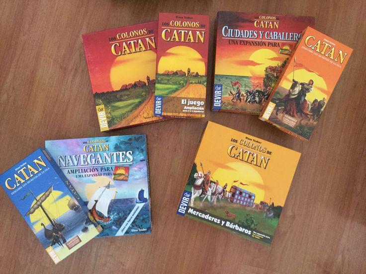 $100.000 - Set Completo Colonos de Catan (Base + 5y6 jugadores, Navegantes + 5y6 jugadores, caballeros y ciudades + 5y6 jugadores, Mercaderes y Barbaros)