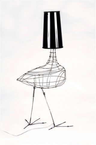 Oiseau lamp, Marie Christophe